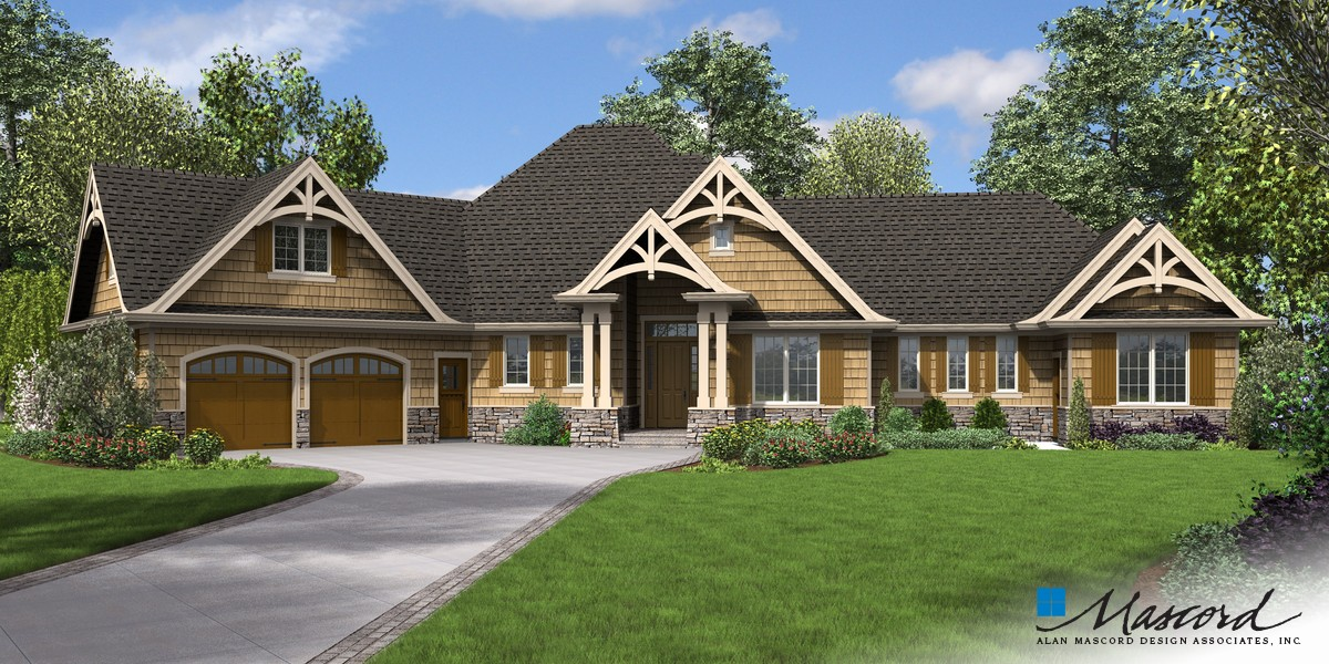 Image for Bishop-In-law Suite Addition to Hugely Popular Ranch-Front Rendering