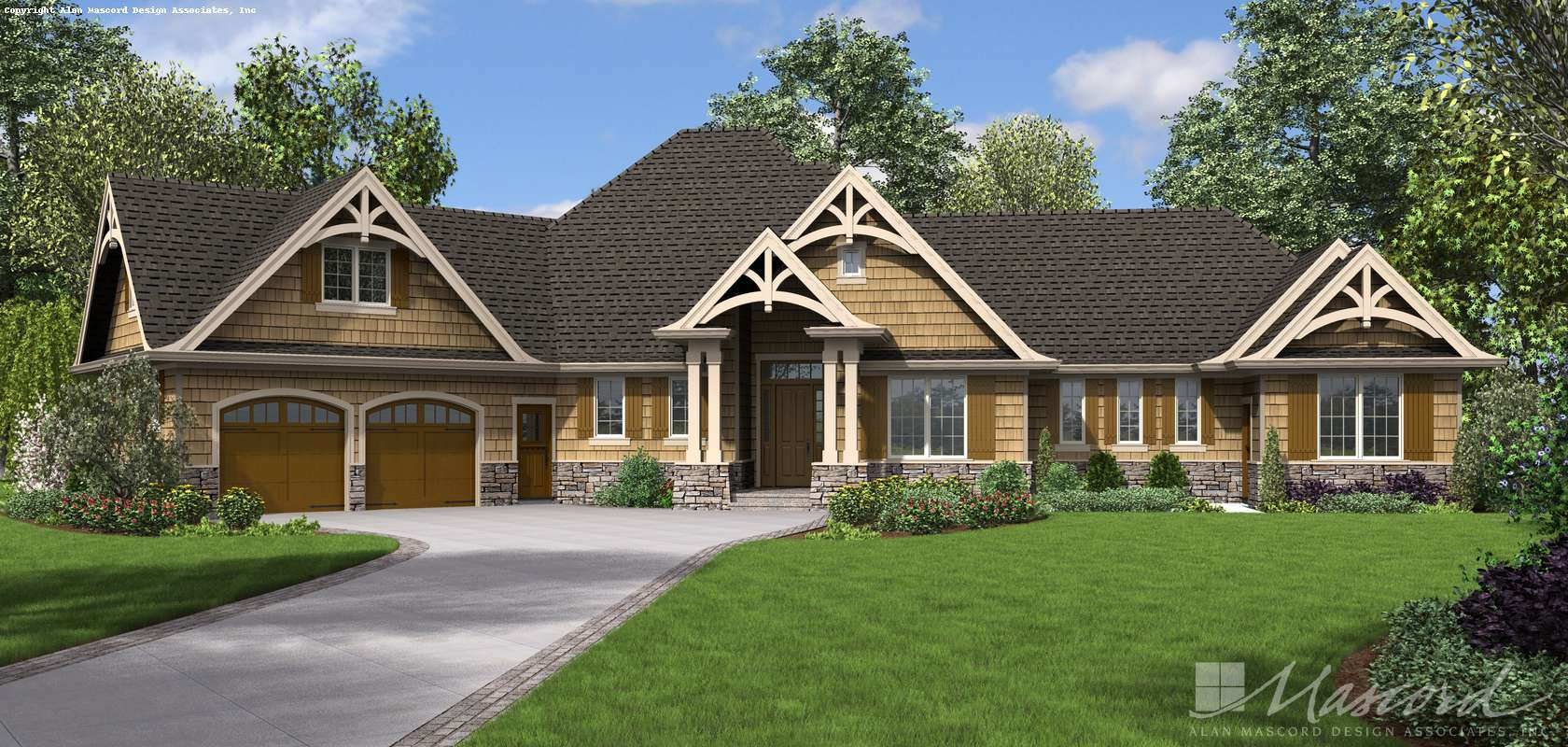 Mascord House Plan 1248A: The Bishop