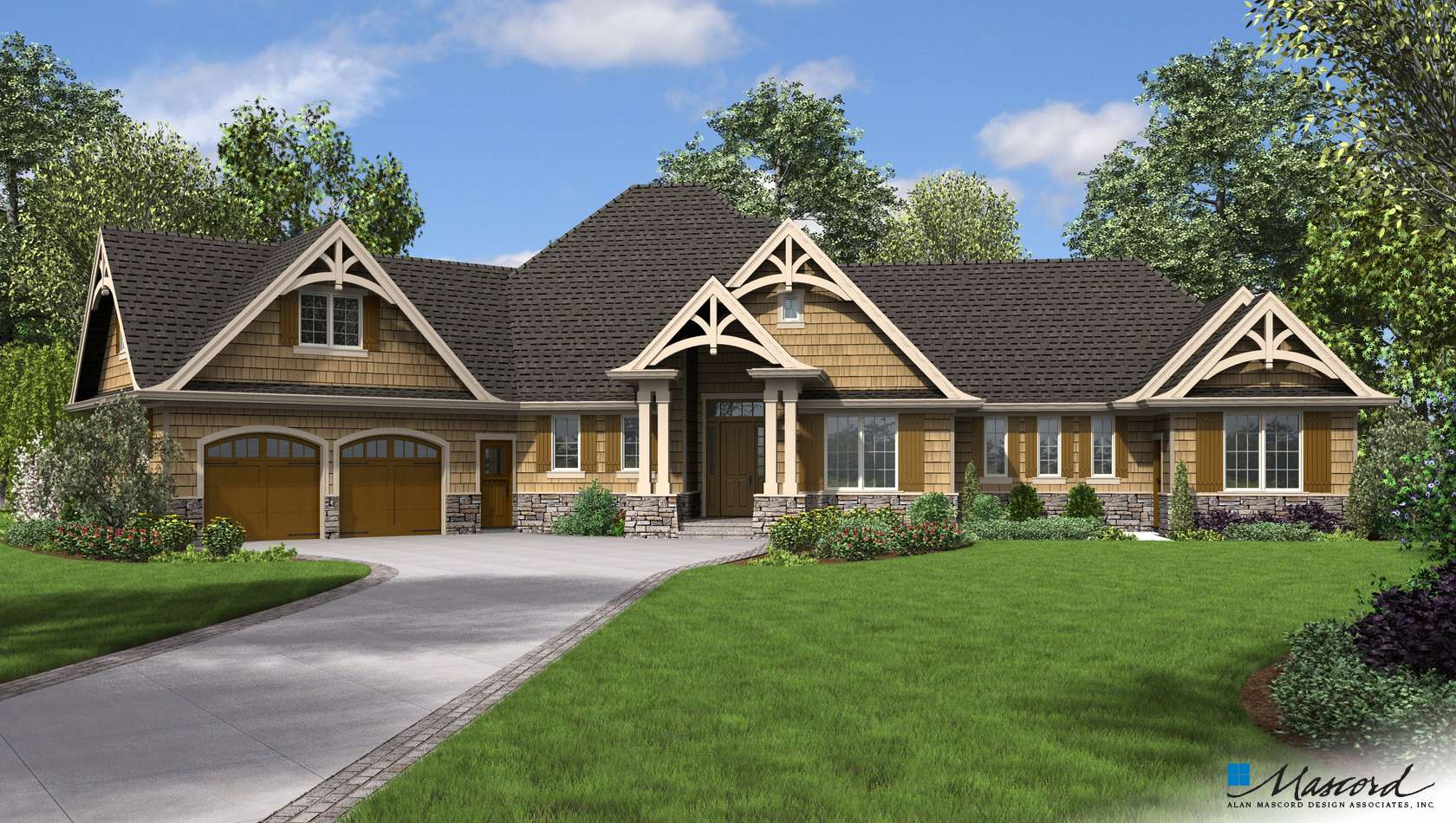 Main image for house plan 1248A: The Bishop