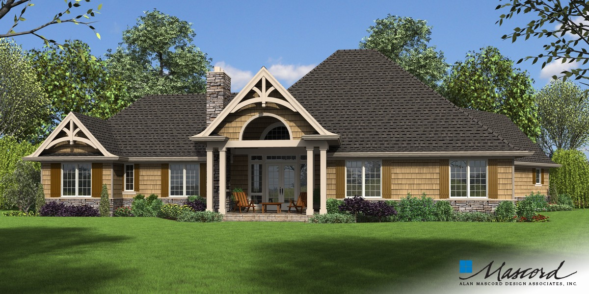 Image for Bishop-In-law Suite Addition to Hugely Popular Ranch-Rear Rendering