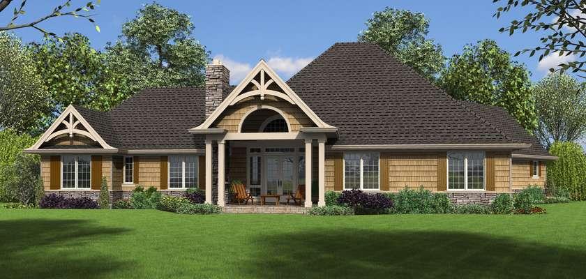 Mascord House Plan 1248A: The Bishop