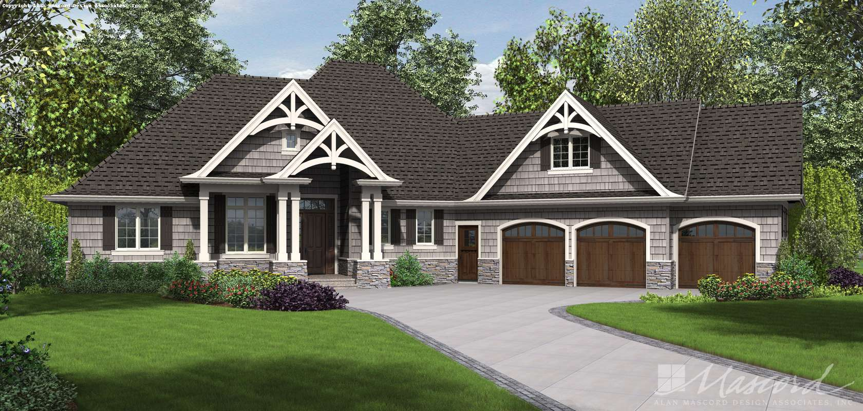 Mascord House Plan 1248B: The Vasquez