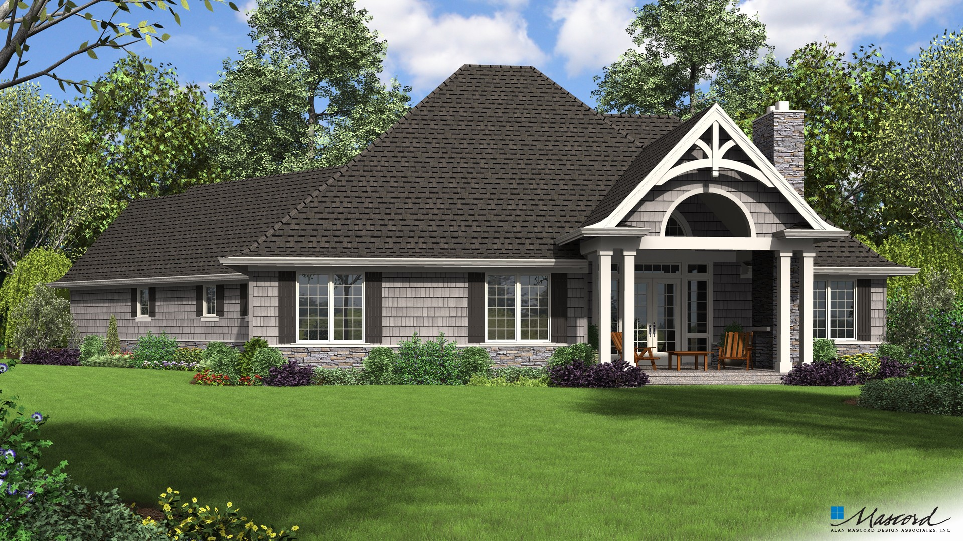 Craftsman House Plan 1248B The Vasquez: 2301 Sqft, 3 Bedrooms, 3.1 ...