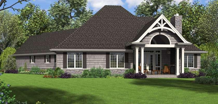 Mascord House Plan 1248B: The Vasquez