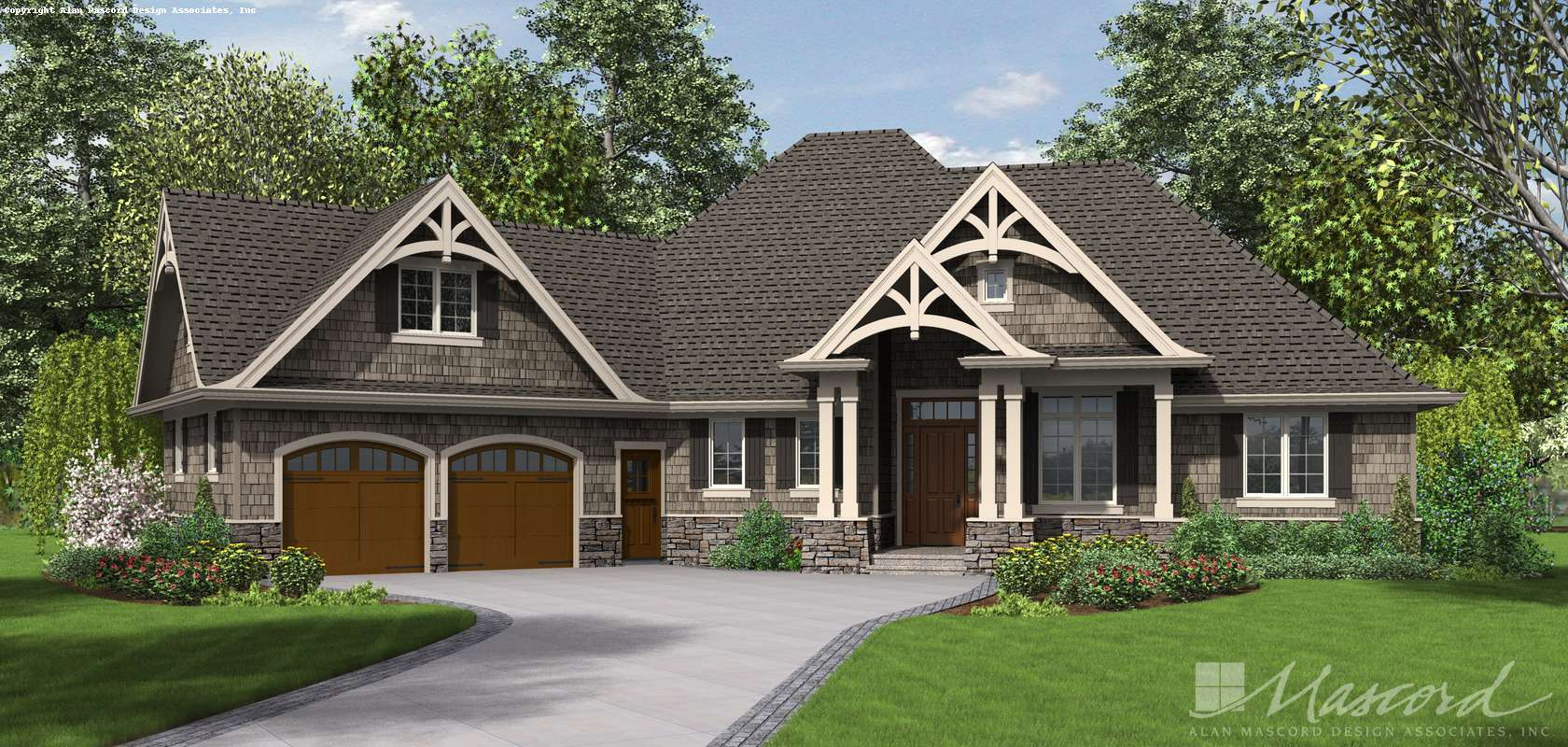 Mascord House Plan 1248: The Ripley
