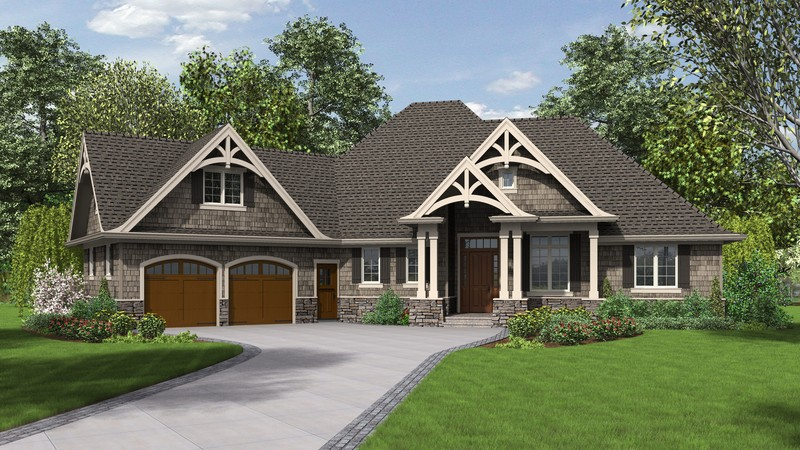 Craftsman House Plan 1248 The Ripley: 2233 Sqft, 3 Bedrooms, 2.1 Bathrooms
