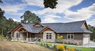 The Westfall Ranch House Plans 1250  | The Westfall - Ranch Style Home Design for the Northwest