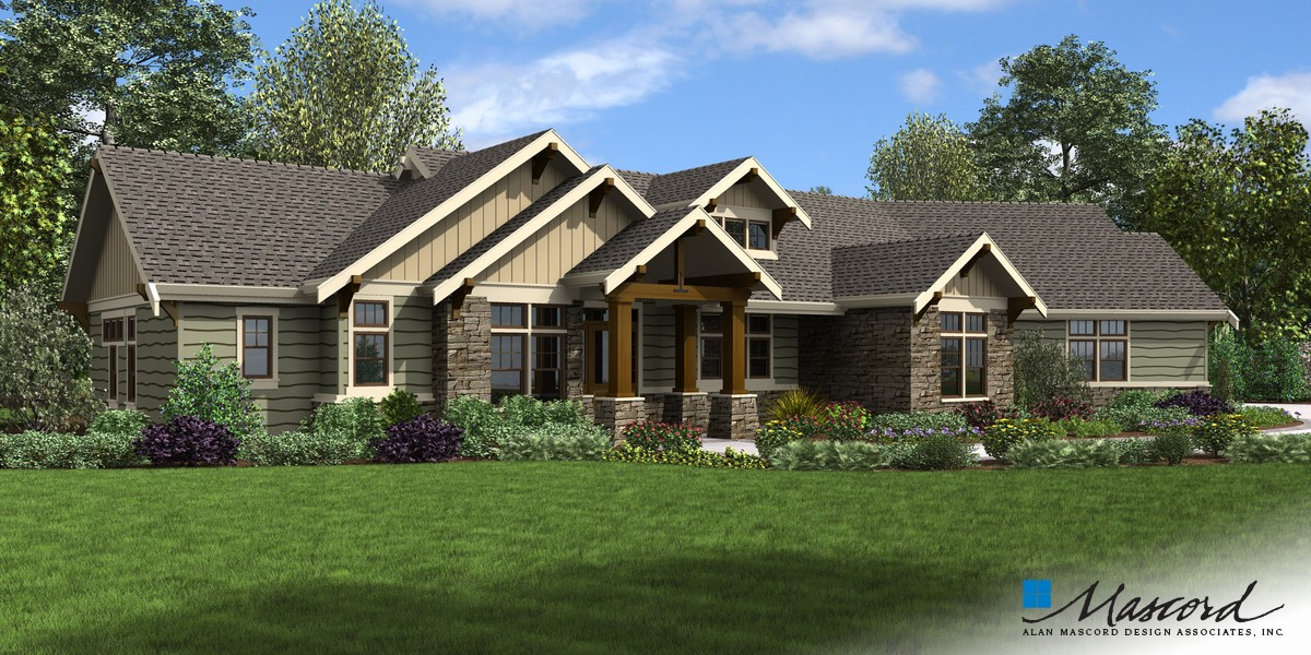 Image for Arapahoe-Popular Amenities such as Vaulted Spaces, Great Rear Porch-Front Rendering