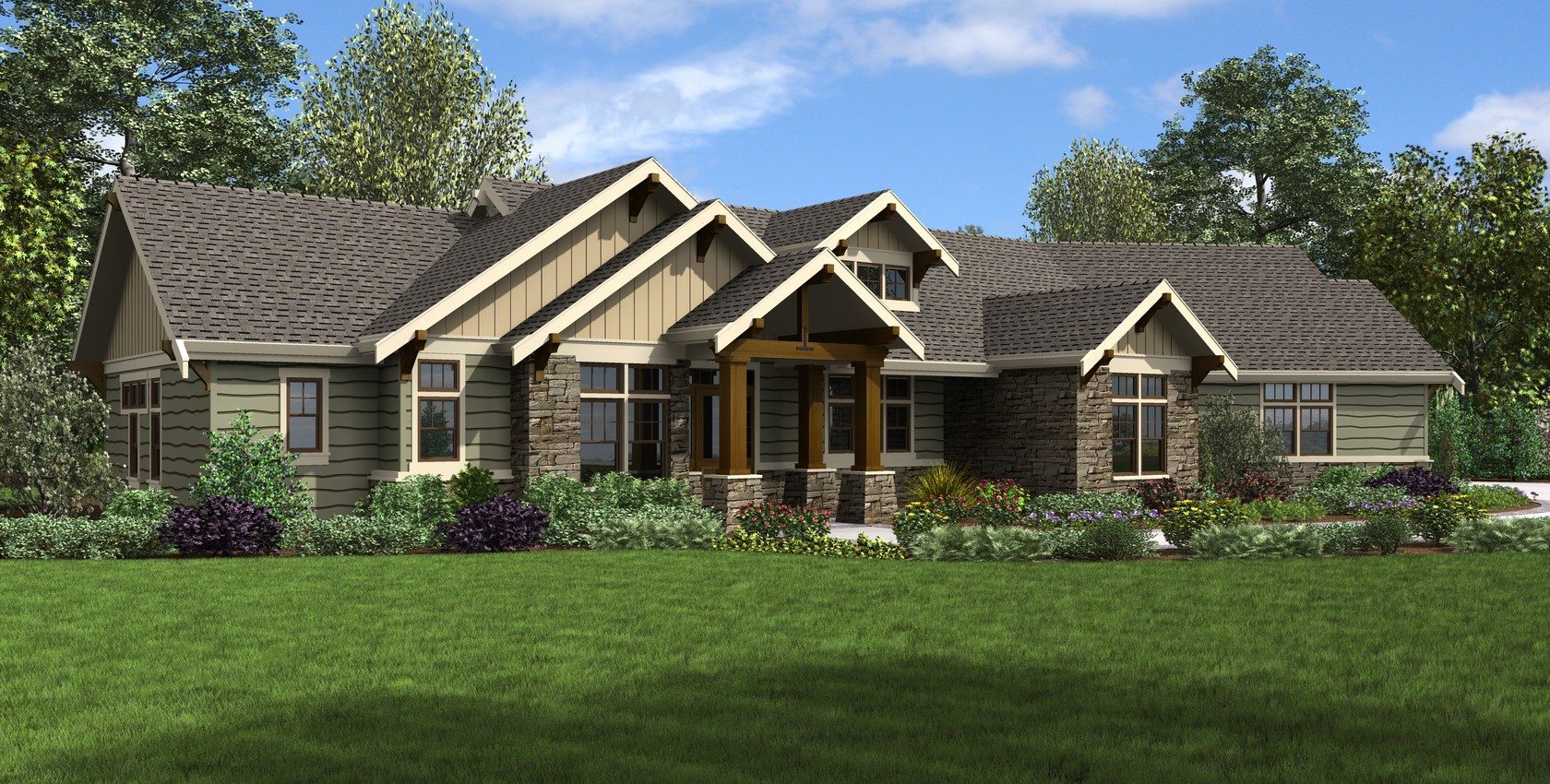 Image for Arapahoe-Popular Amenities such as Vaulted Spaces, Great Rear Porch-8513