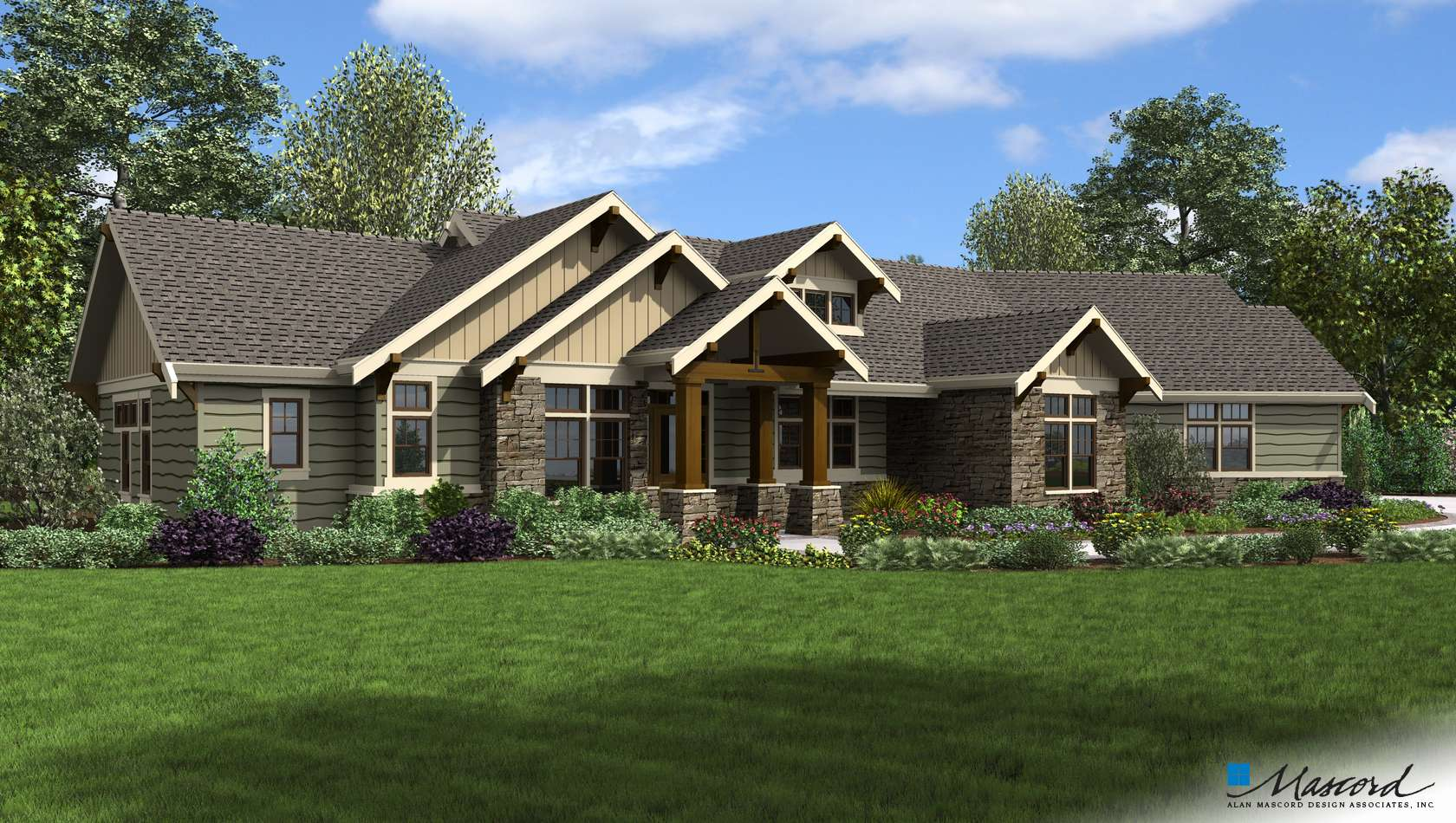 Main image for house plan B1250B: The
