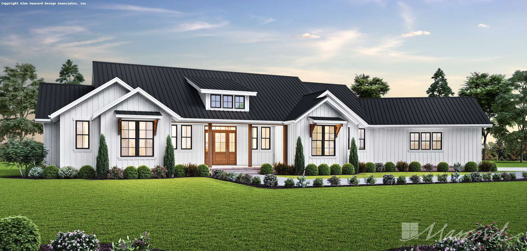 Mascord House Plan 1250C: The Lakeville