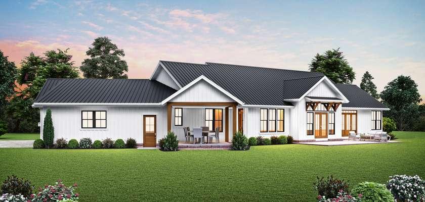 Mascord House Plan 1250C: The Lakeville