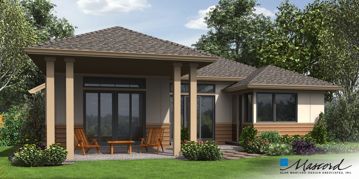 Image for Kennedy-Smart, Flexible Design, Mid-Century Modern Appeal  -Rear Rendering