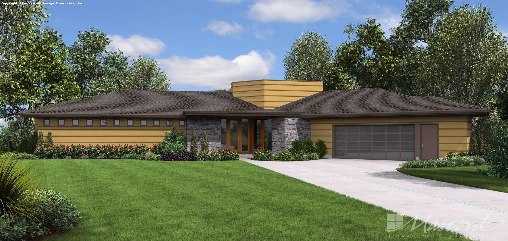 Mascord House Plan 1252: The Cheatham