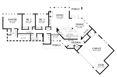 Image for Cheatham-Smart Spaces, Beautiful Connection to the Outdoors-Main Floor Plan
