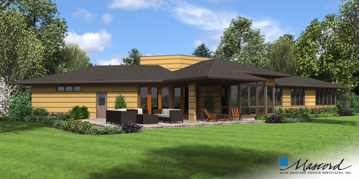 Image for Cheatham-Smart Spaces, Beautiful Connection to the Outdoors-Rear Rendering