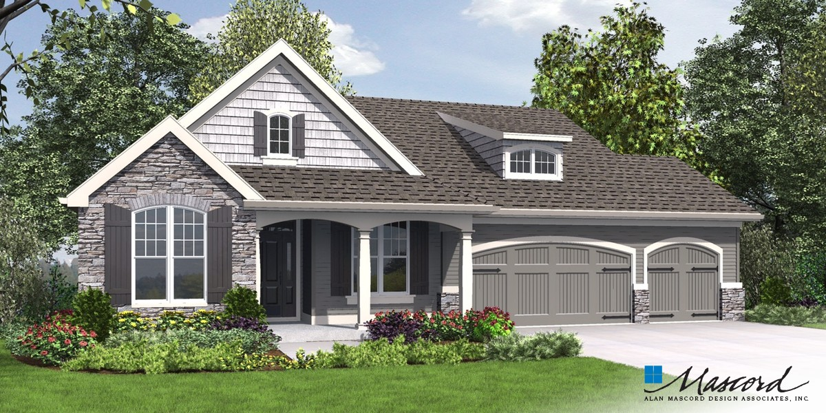 Image for Alamosa-Great Family Plan with Games Room-Front Rendering