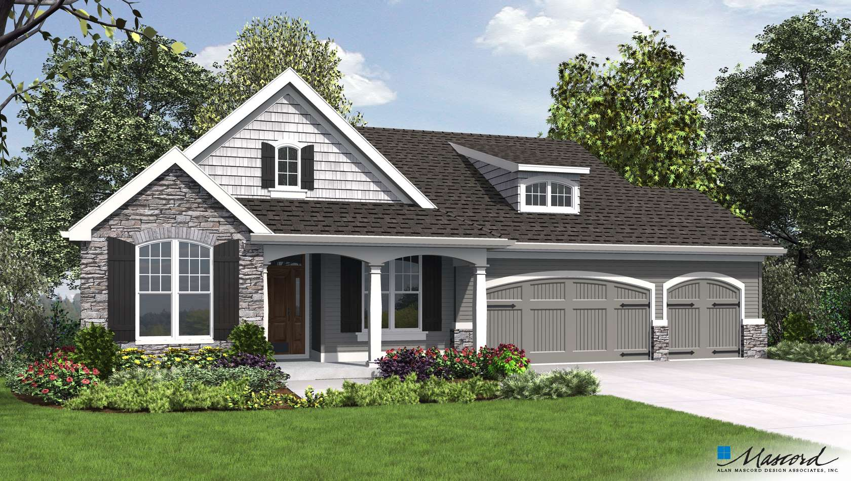 Main image for house plan 1253: The Alamosa