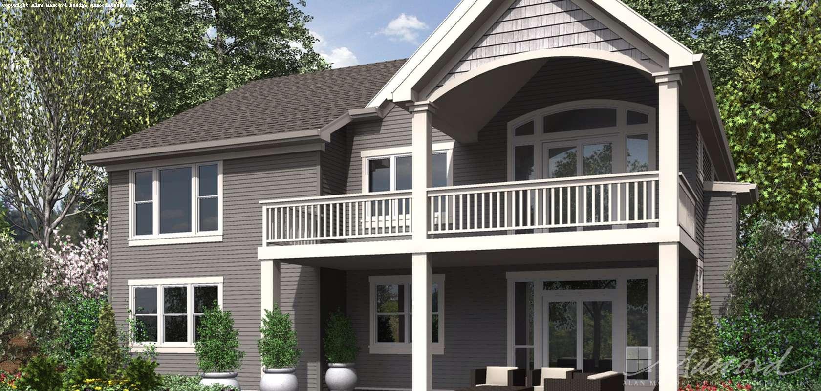 Mascord House Plan 1253: The Alamosa