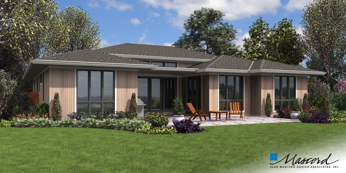 Image for Abingdon-A Ranch Style Oasis with Stacks of Amenities-Rear Rendering