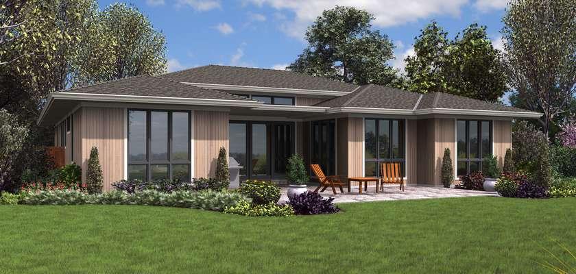 Mascord House Plan 1254: The Abingdon