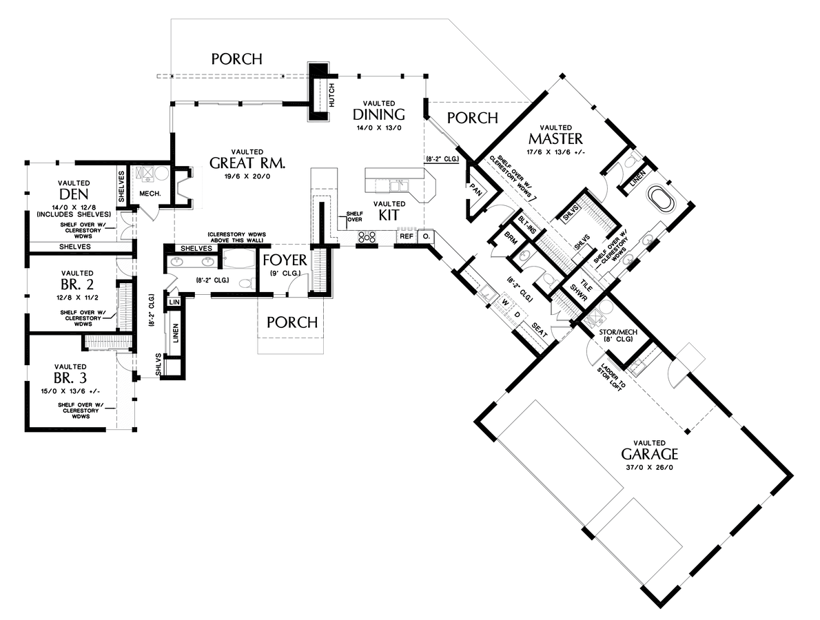 Contemporary house plan 1255 the salt lake 2699 sqft 4 for House plans for view lots