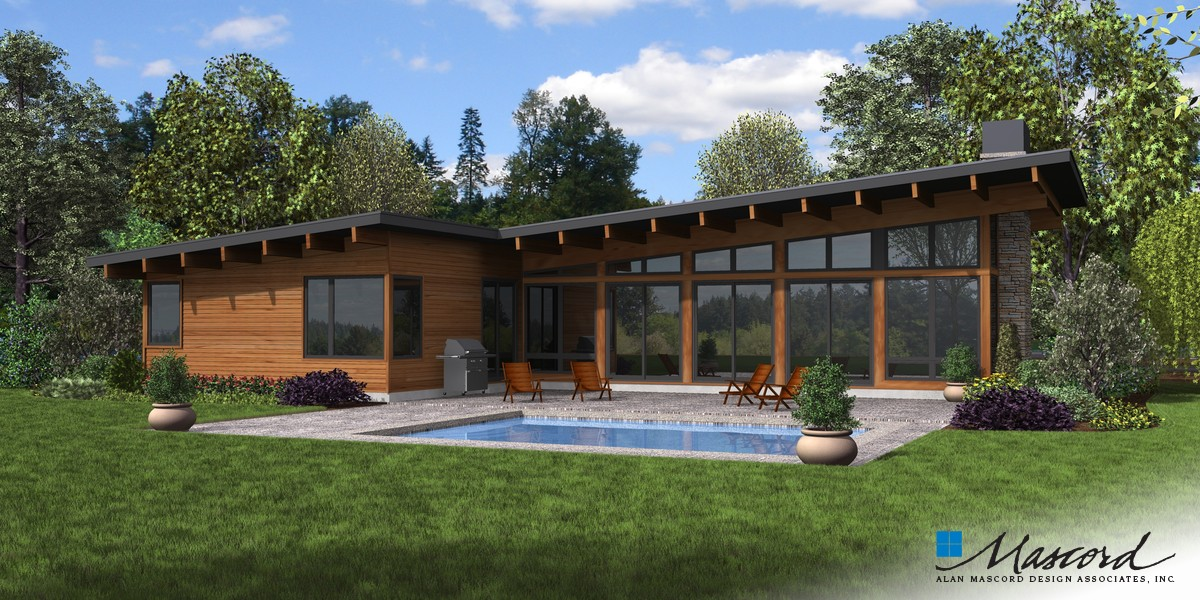 Image for Delores-Great Entertaining Space with Connection to Outdoors-Rear Rendering