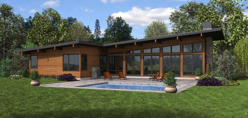 Mascord House Plan B1256: The