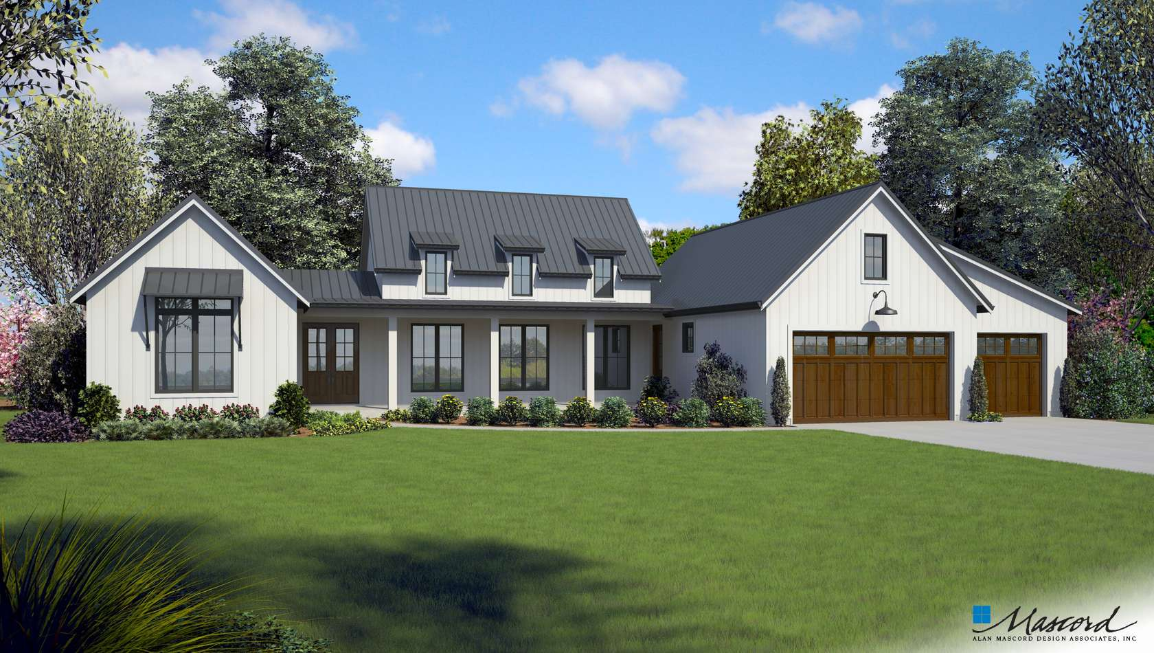 Main image for house plan 1258: The Saddleridge