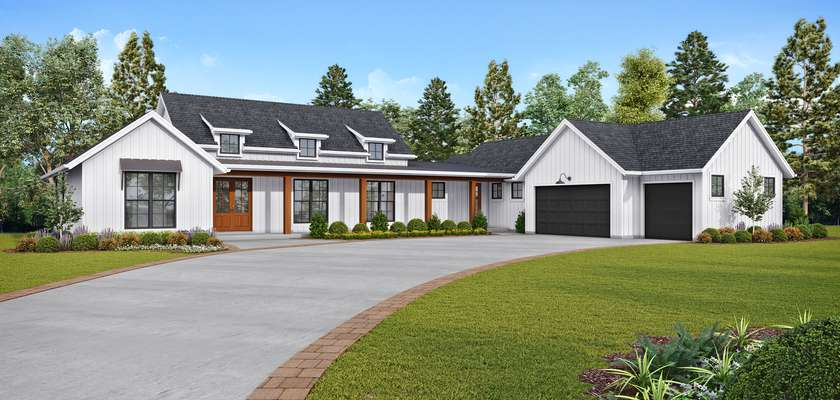 Mascord House Plan 1259: The Bernadino