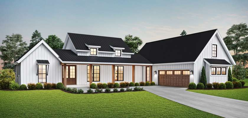Mascord House Plan 1259A: The Meadowside