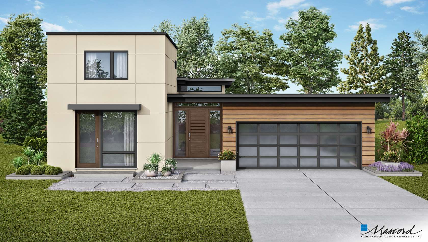 Main image for house plan 1260: The Alameda North