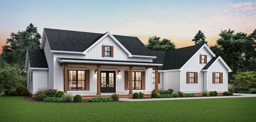 Mascord House Plan 1262A: The Cedar Tree Hollow