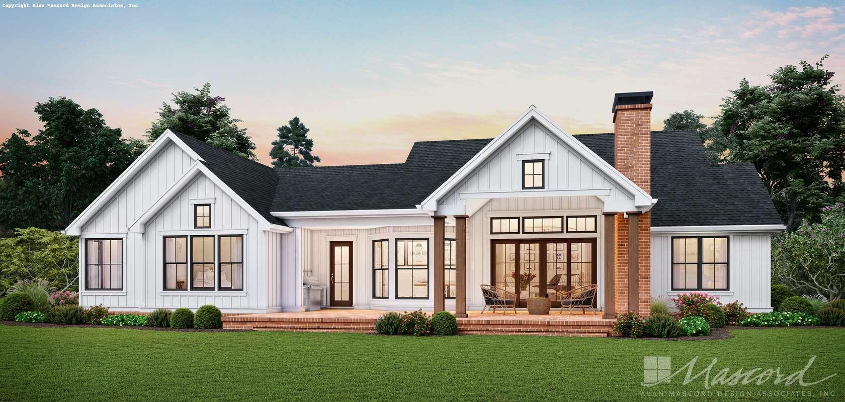 Mascord House Plan B1262A: The