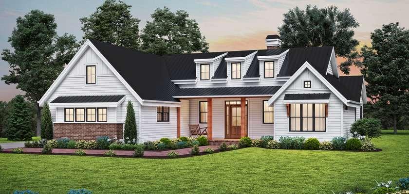 Mascord House Plan 1264: The Sutter Creek