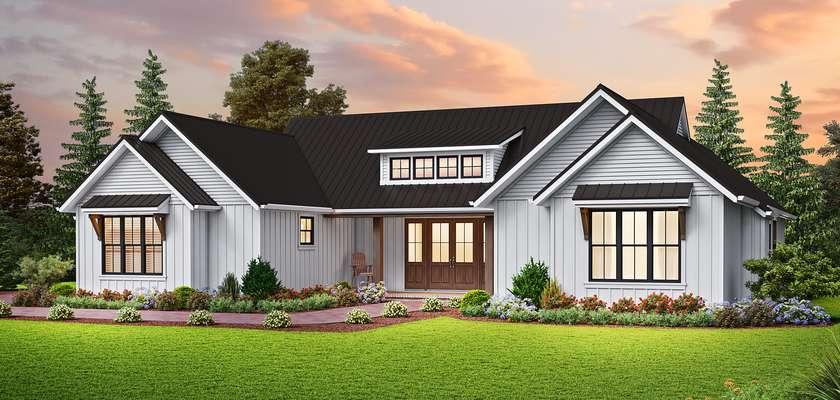 Mascord House Plan 1265: The Conrod