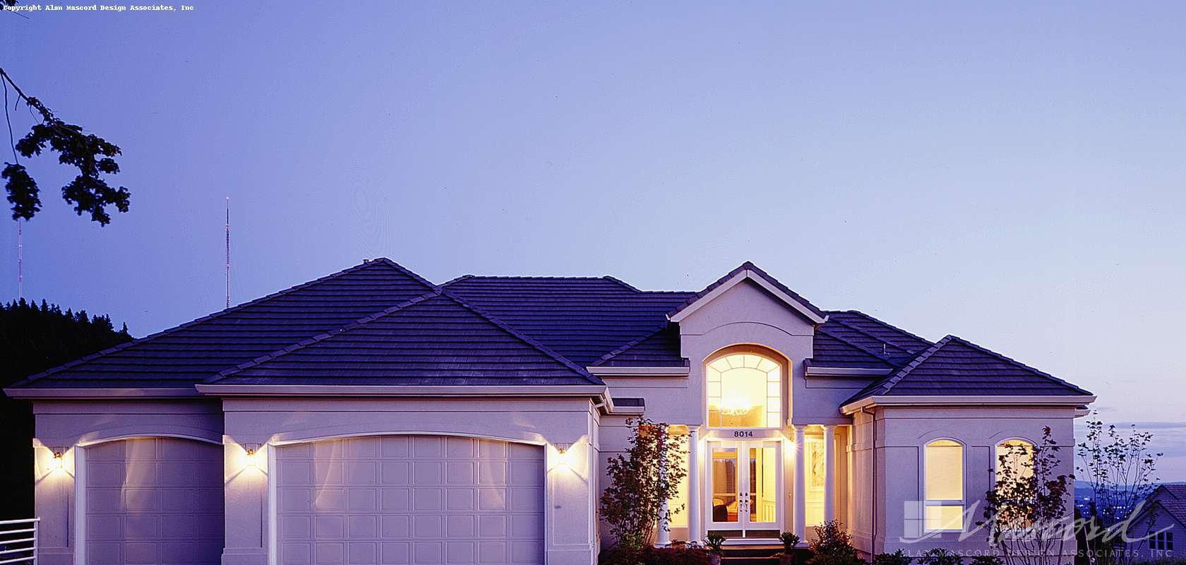 Mascord House Plan 1305: The Carenco