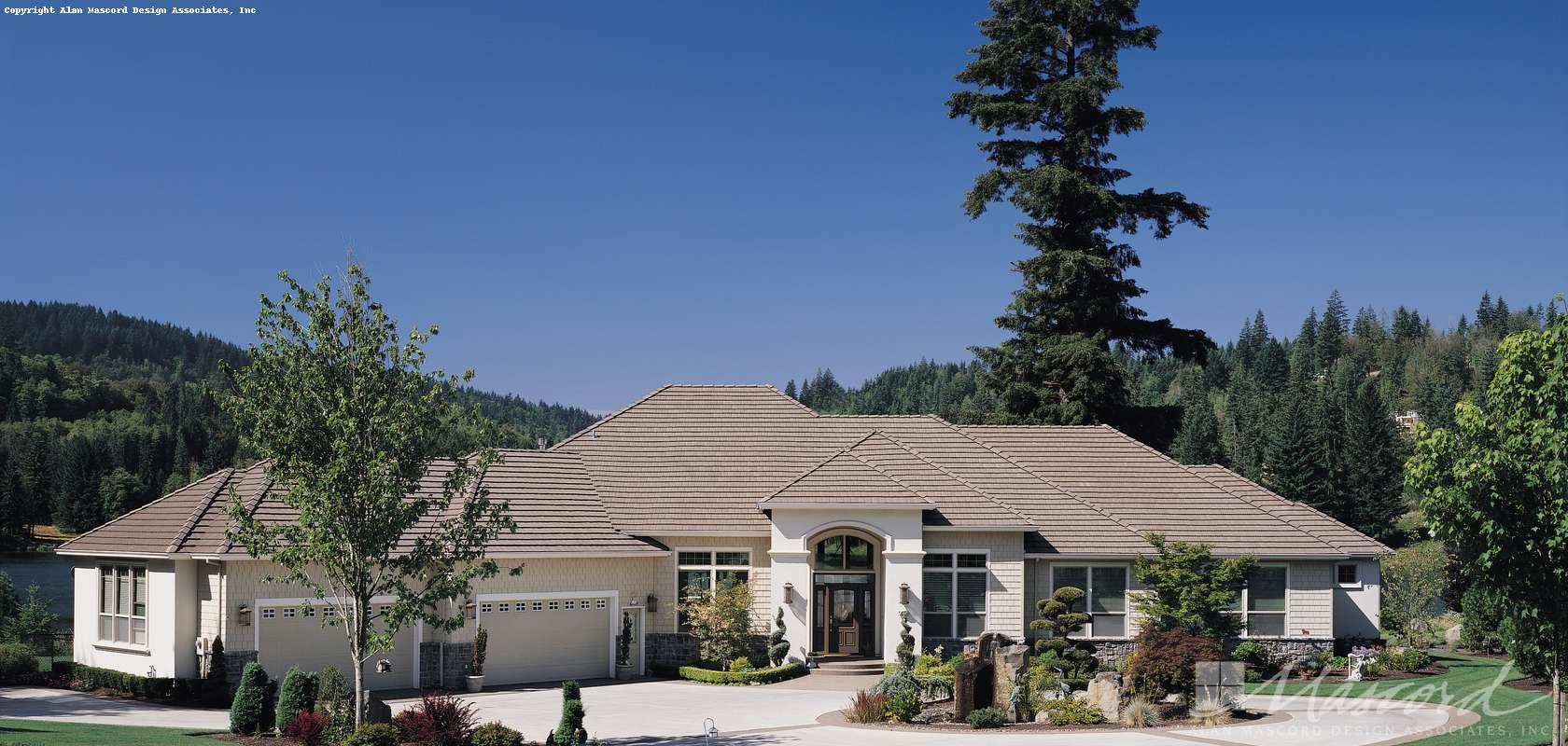Mascord House Plan 1310: The Dahlberg