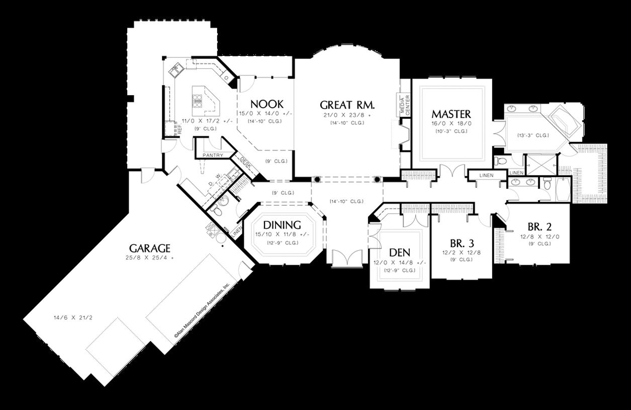 house plan 1310