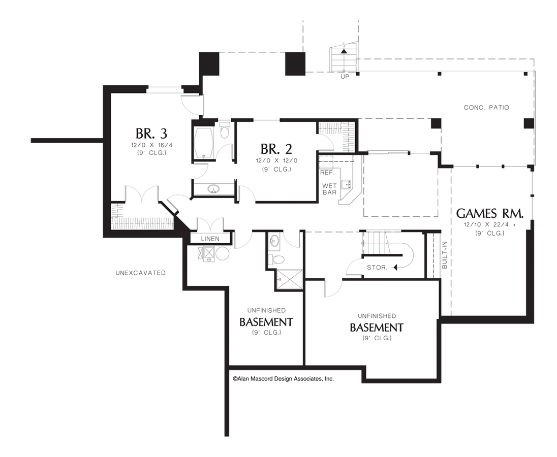 Craftsman House Plan 1312AA The Fullbright: 3613 Sqft, 4 Bedrooms ...