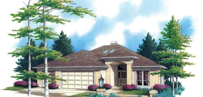 Mascord House Plan 1314: The Hedington