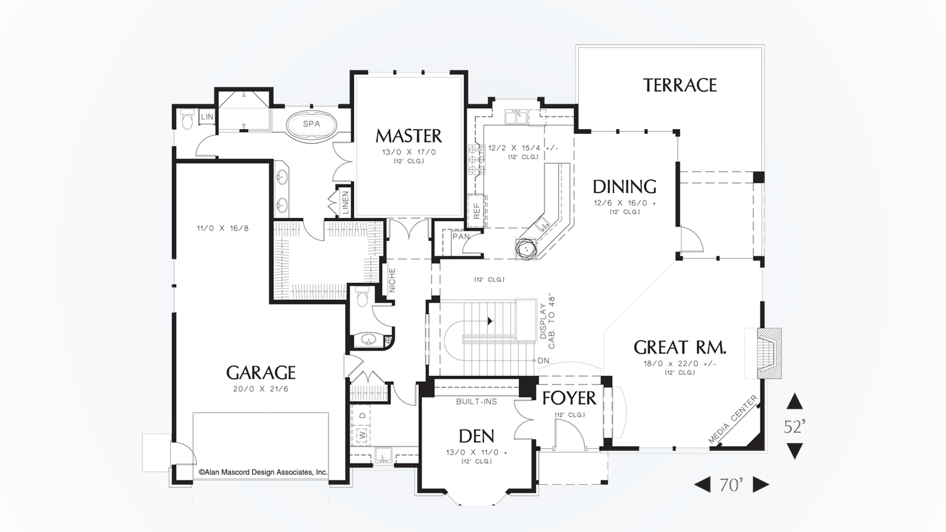 traditional house plan 1319a the jennings  3955 sqft  4