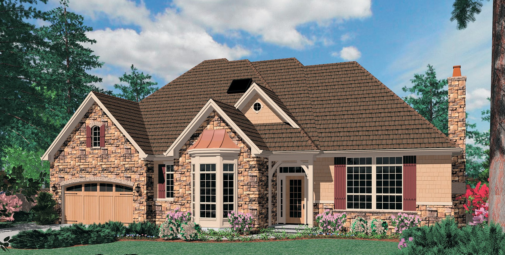 Mascord house plan 1319a the jennings - Consider choosing great house plan ...