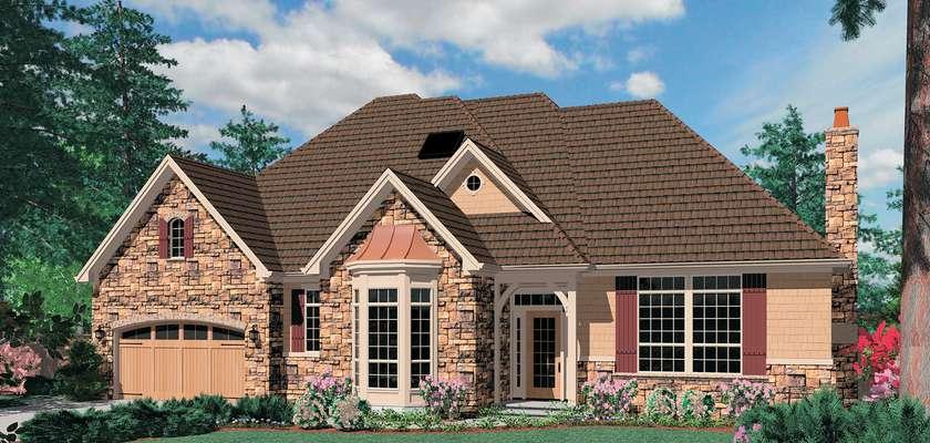 Mascord House Plan 1319A: The Jennings