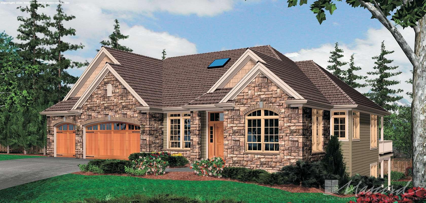 Mascord House Plan 1320: The Granseth