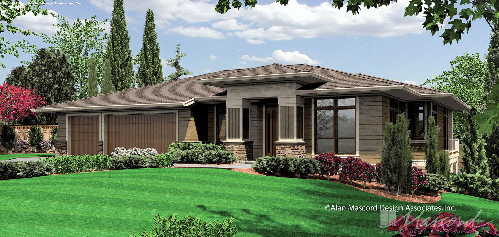 Mascord House Plan 1320A: The Kendrick