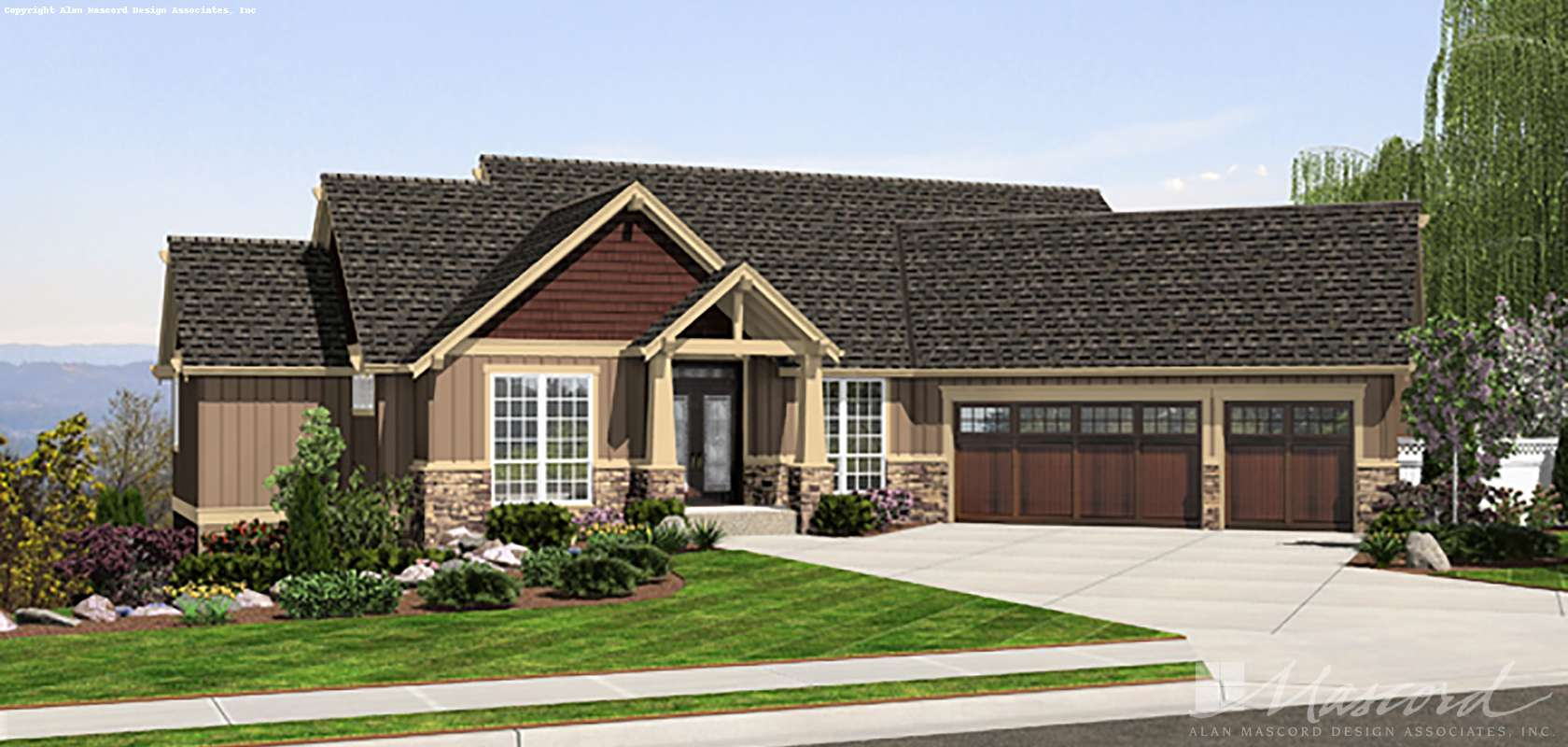 Mascord House Plan 1323: The Paysholme