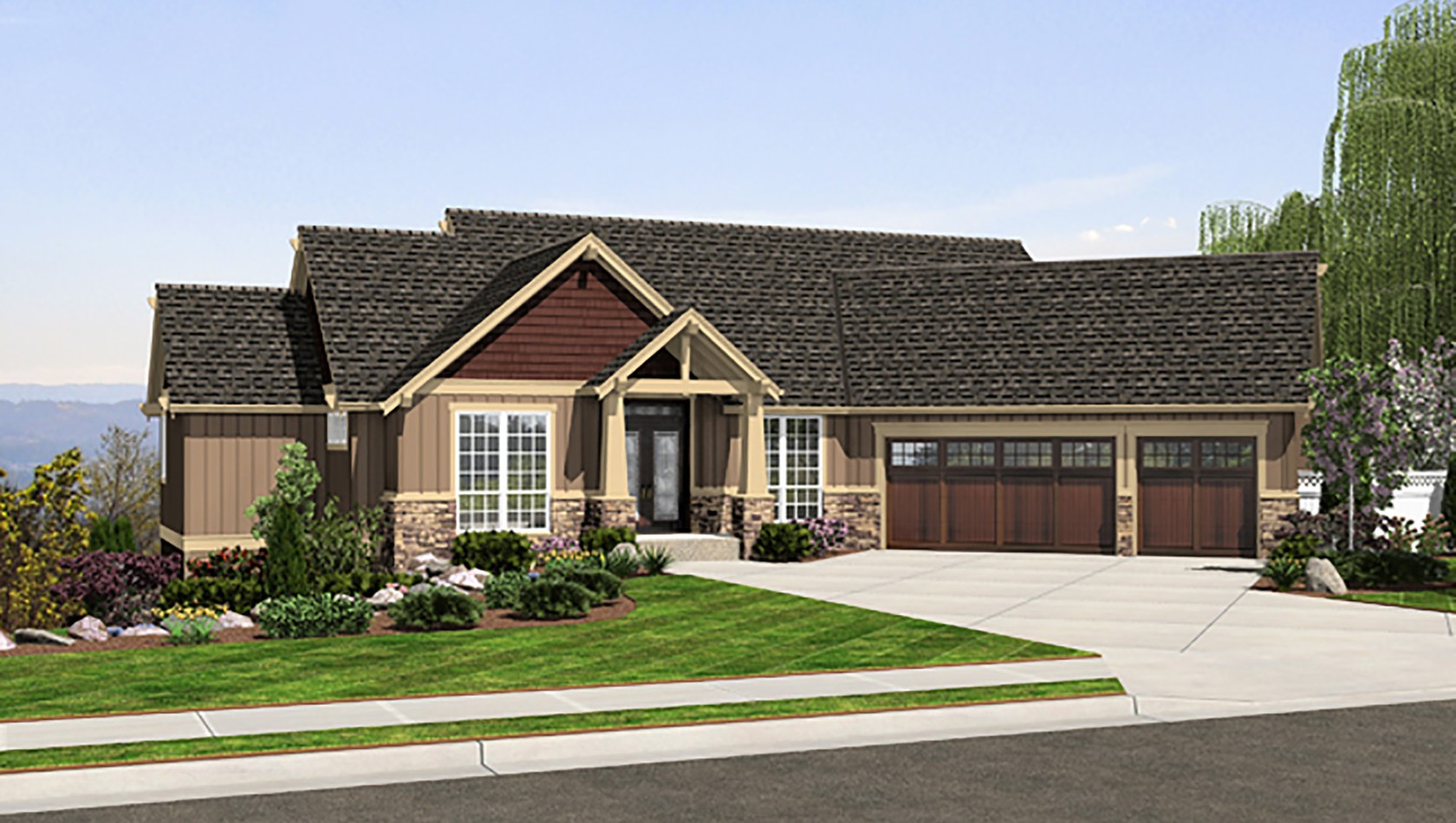Main image for house plan 1323: The Paysholme