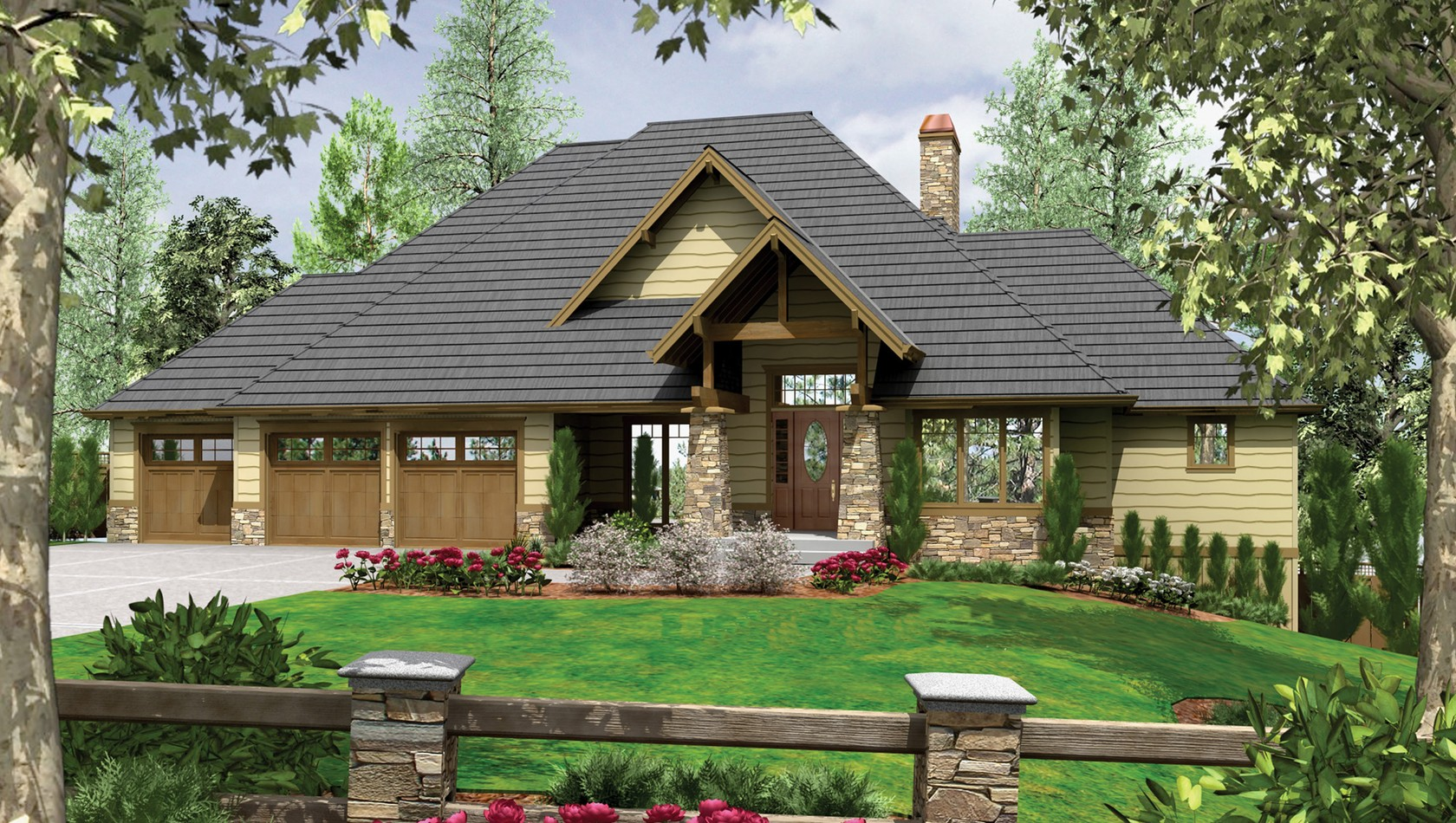 Main image for house plan 1324: The Lenhart