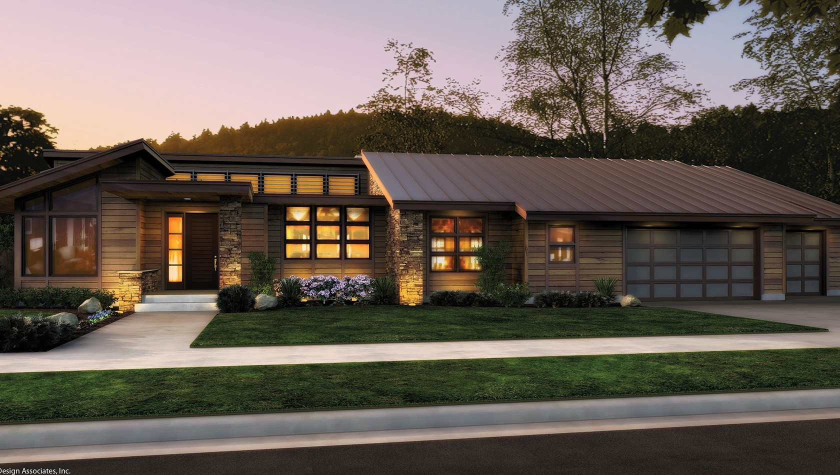 Main image for house plan 1327: The Mercer
